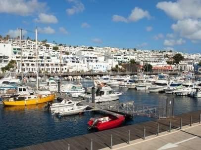 Zona turística de Puerto del Carmen (Lanzarote)