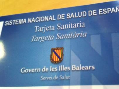 Tarjeta sanitaria de Baleares