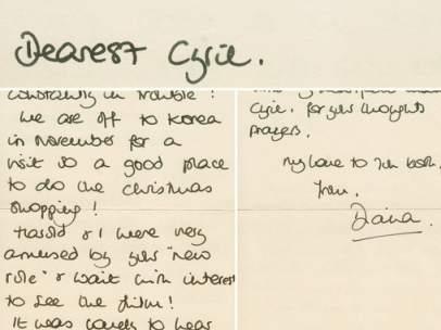 Cartas de Diana de Gales