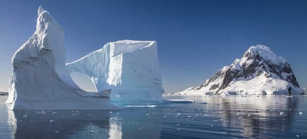 Paisaje de la Antártida