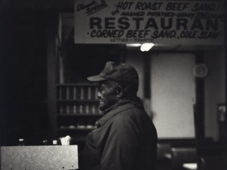 Ming Smith - Hot Roast Beef Worker (from the August Wilson Series), Pittsburgh, PA, ca. 1993