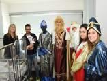 Los Reyes Magos visitan el hospital Son Llàtzer