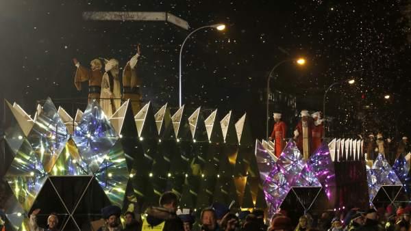 Cabalgata de Reyes de Madrid