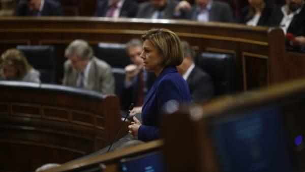 Cospedal, en el Congreso
