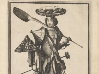 Costume of the Cook, ca. 1690s, Nicolas I de Larmessin