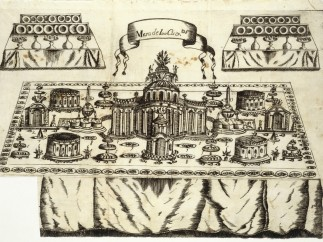Table with 100 Settings, 1747, Madrid, Antonio Marin