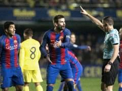 Piqué denuncia favores arbitrales a favor del Madrid y en contra del Barça