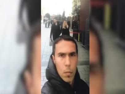El presunto atacante de Estambul.