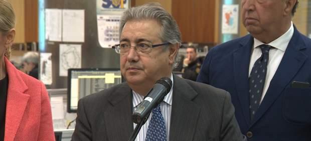 Zoido confirma los yihadistas de Madrid 'están neutralizados'