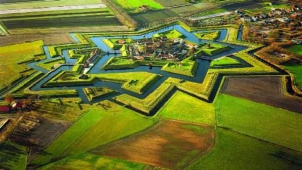 La localidad holandesa de Bourtange