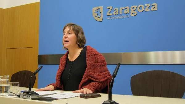 Concejala de Movilidad Urbana y Medio Ambiente de Zaragoza, Teresa Artigas