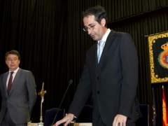 El rector de la URJC, Fernando Suárez, el día de su toma de posesión