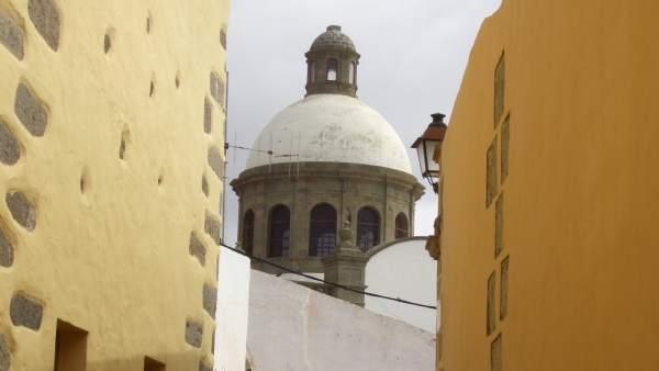 Cúpula de la Iglesia de Agüimes