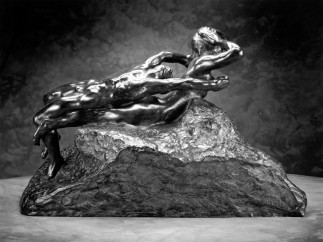 Auguste Rodin (French, 1840–1917), Fugitive Love, modeled before 1887