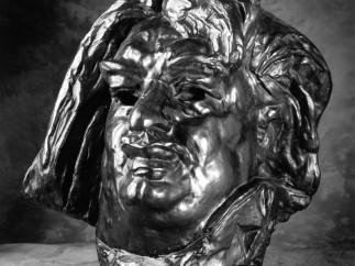 Auguste Rodin (French, 1840–1917), Monumental Head of Balzac, modeled 1898