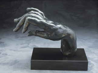 Auguste Rodin (French, 1840–1917), Large Hand of a Pianist, modeled 1885
