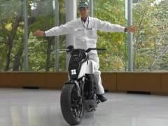 La moto anti caídas