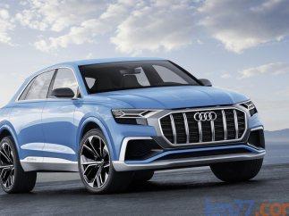 Audi Q8 concept, prototipo del futuro Q8 de Audi