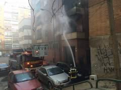 Incendio en Carabanchel