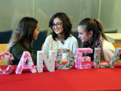 Mariona, Daniela y Candela