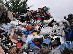 Plásticos en vertederos