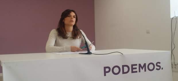 La responsable de Igualdad de Podemos, Clara Serra