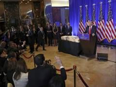 Rueda de prensa de Donald Trump