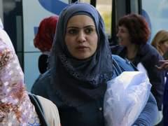 Llegan 55 refugiados sirios e iraquíes a España