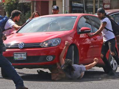 Brutal atropello en México