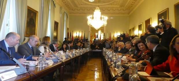 Foto/ La Consejera De Presidencia, María Dolores Pagán , Asistió Hoy A La Reunió