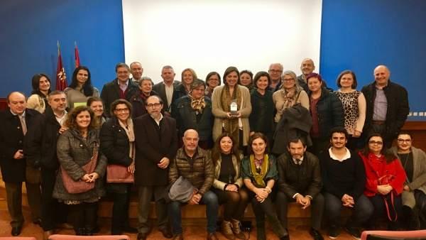 Guillén presidió hoy la reunión de la Coalición de Envejecimiento Activo