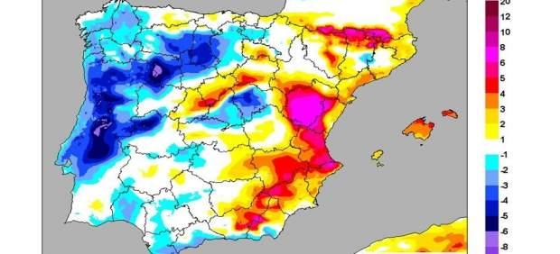 Les màximes apujaran cinc graus este dijous a València i fins a huit en alguns punts de la Comunitat