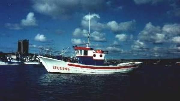 El pesquero Monteagudo Primero