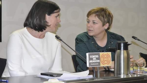 Elena Alluè y Berta Zapater