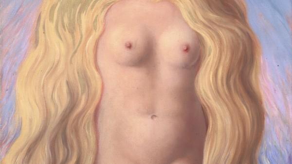 René Magritte, Le Viol, 1945