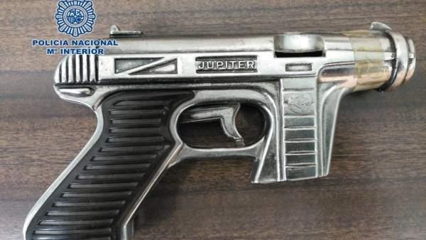 Pistola simulada