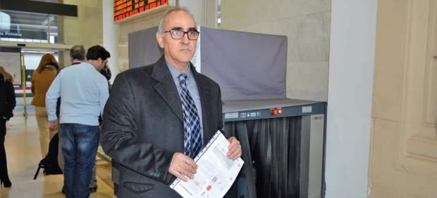 El abogado de los padres de Nadia, Alberto Martín, en Lleida