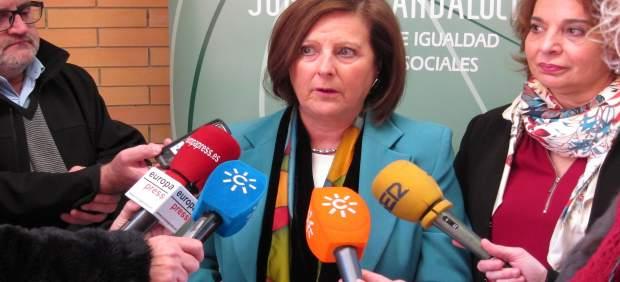 La consejera andaluz de Igualdad y Políticas Sociales, María José Sánchez Rubio
