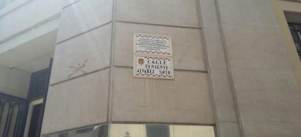 Una de las calles de Alicante afectada por el cambio de nombre