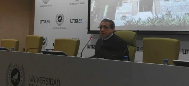 El rector de la Universidad de Málaga, José Ángel Narváez