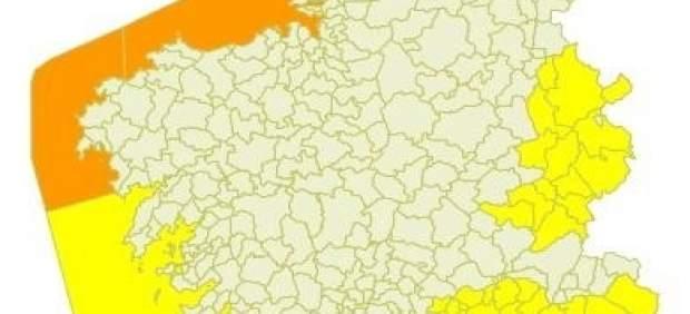 Aviso Meteorológico Temporal Nivel Naranja Galicia