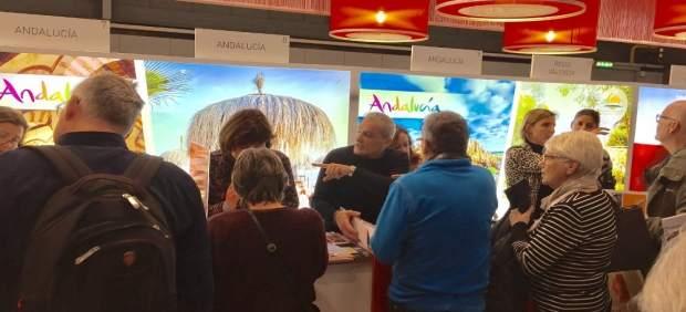 Feria turística en Utrech (Holanda)
