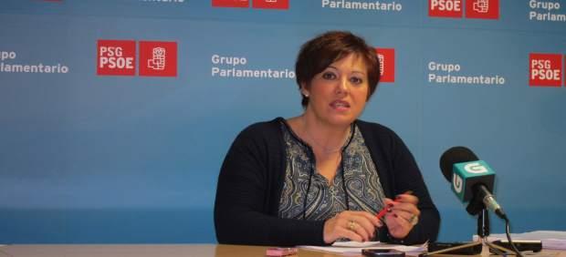 La diputada del PSdeG Begoña Rodríguez Rumbo