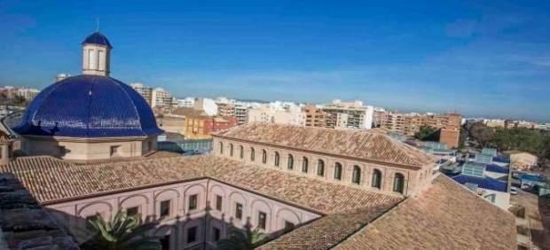 Vista aérea del Museo de Bellas Artes de Valencia