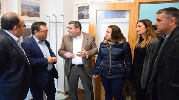 Psoe De Andalucía: Audios Y Fotos Rueda De Prensa Miguel Ángel Heredia En Vélez