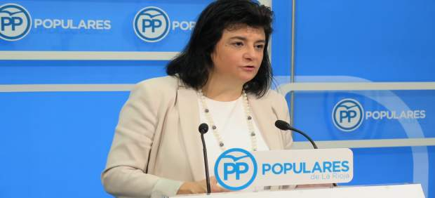 La portavoz 'popular', Concepción Arruga