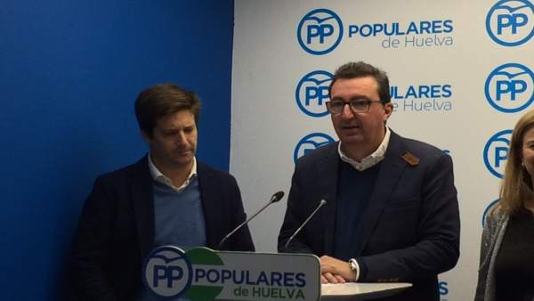 Manuel Andrés González en rueda de prensa