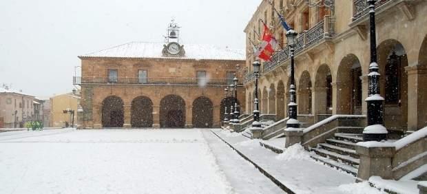 Nieve en Soria
