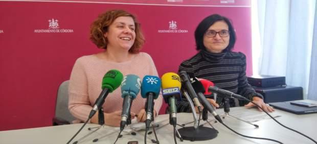 Alba Doblas y Amparo Pernichi