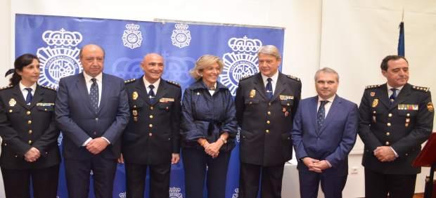'El Director De La Policía Ha Presidido La Toma De Posesión Del Comisario Provin